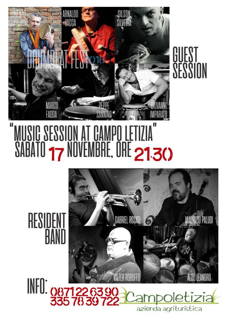 Cena e Concerto del 17 novembre