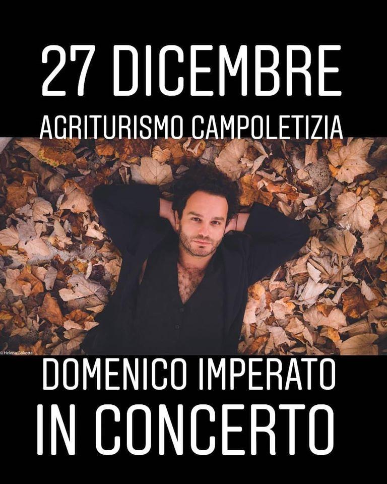 (Italiano) Cena Concerto – Domenico Imperato
