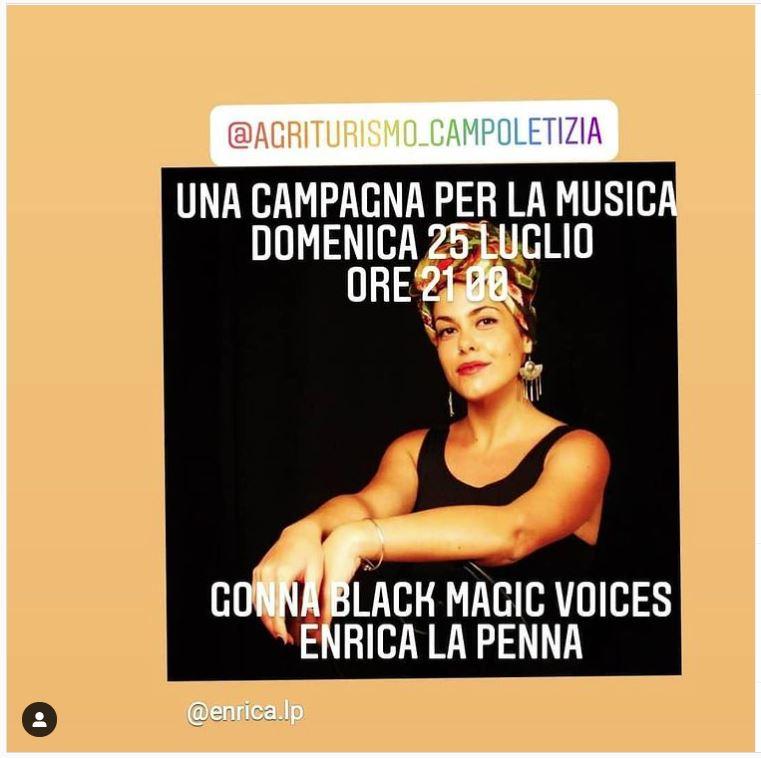 Cena Concerto di Enrica La Penna